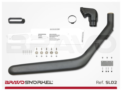 BRAVO SNORKEL LAND ROVER DISCOVERY 2 (1999 - 2005) REF. SLD2