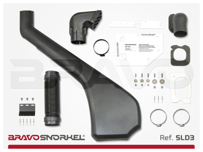 BRAVO SNORKEL LAND ROVER DISCOVERY 3 / 4 (2005 - 2016) REF. SLD3