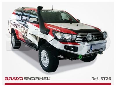 BRAVO SNORKEL TOYOTA HILUX 126 SERIES REVO (2016 - ) REF. ST26