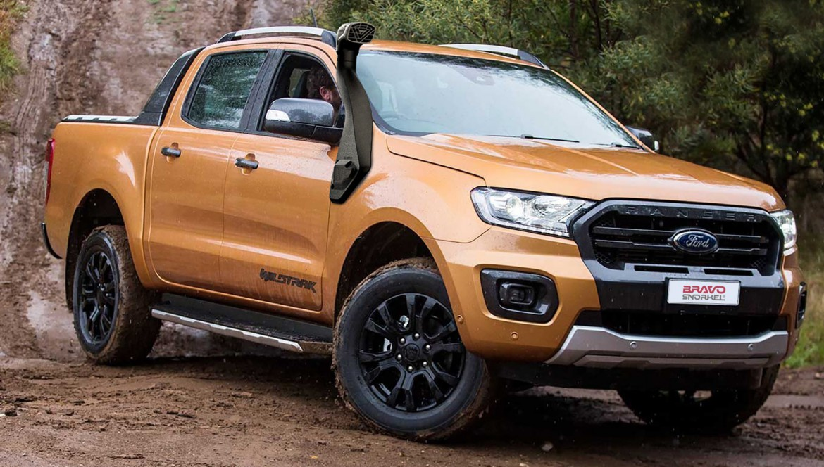 New snorkel for Ford Ranger PX